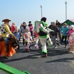 праздник, посвященный открытию обновленной детской площадки